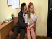 Русское препод со студенткой